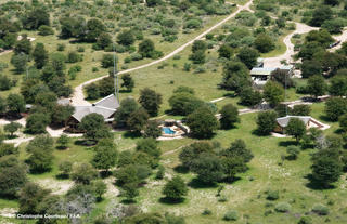 View of Grassland Bushman Lodge