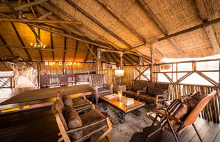 Camp Savuti Lounge and Dining Area