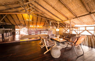 Camp Savuti Lounge Area
