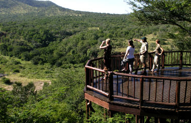 Mkuze Falls Viewing Deck