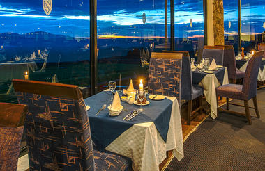 Dining at Ngorongoro
