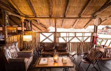 Lounge Area Camp Savuti