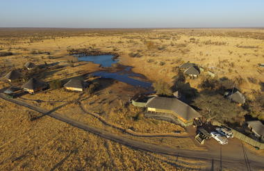Aerial view of Nehimba Lodge
