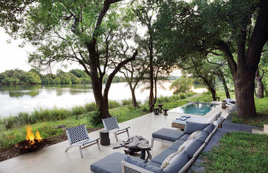 Matetsi River House Outdoor Living